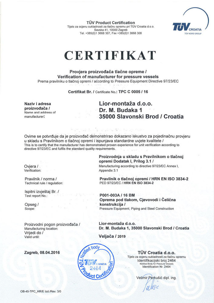 uvjerenje PED Lior-Montaza 2016-19 hr-engl